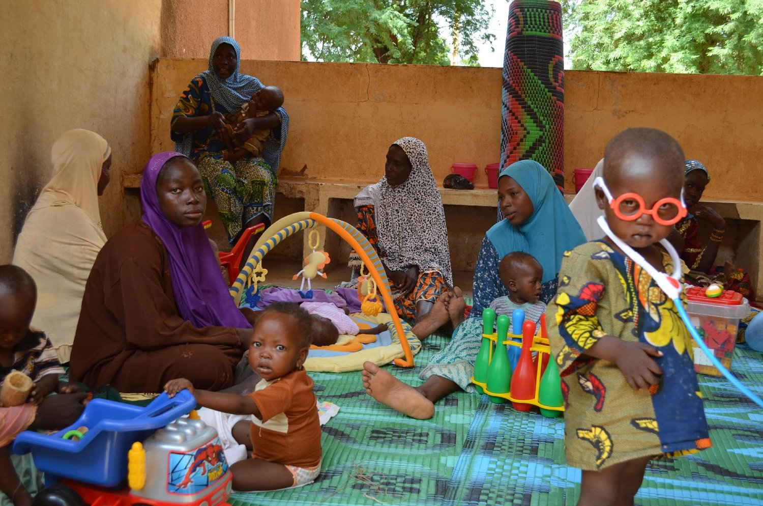 Promote health in Niger and fight underfeeding