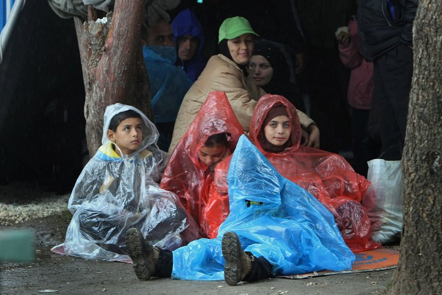 Winter relief for refugees in Serbia
