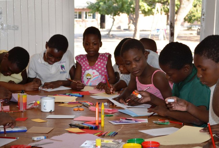 Education for kids in Haiti