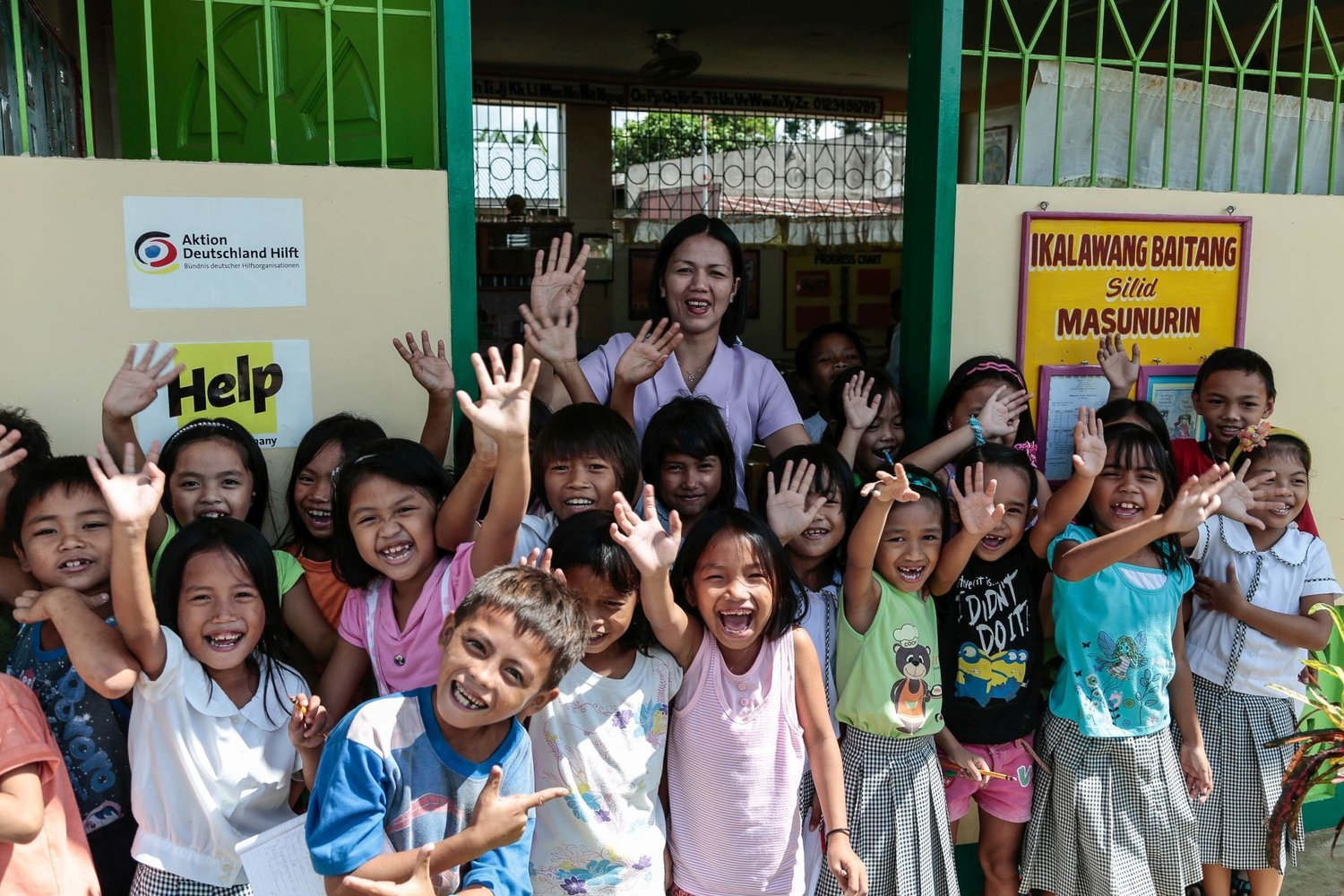 Rehabilitation of schools in the Philippines