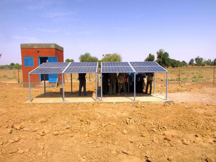 Solaranlage in Burkina Faso