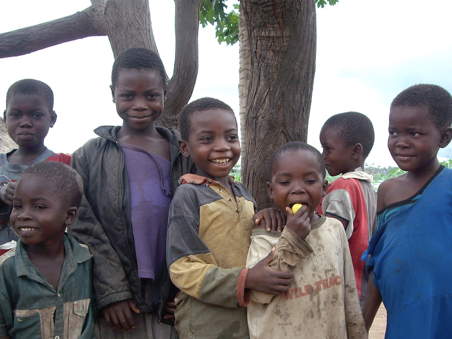 Children in DR Congo