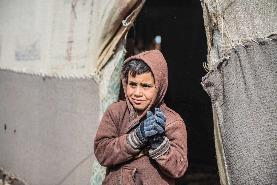Winter clothing for Syrian refugees in Jordan