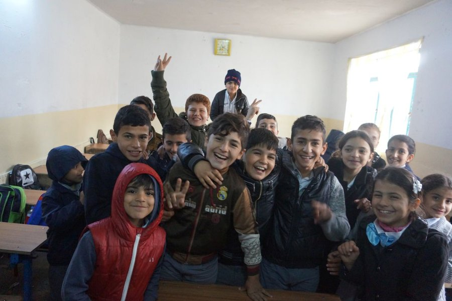 Students in Iraq can go back to school