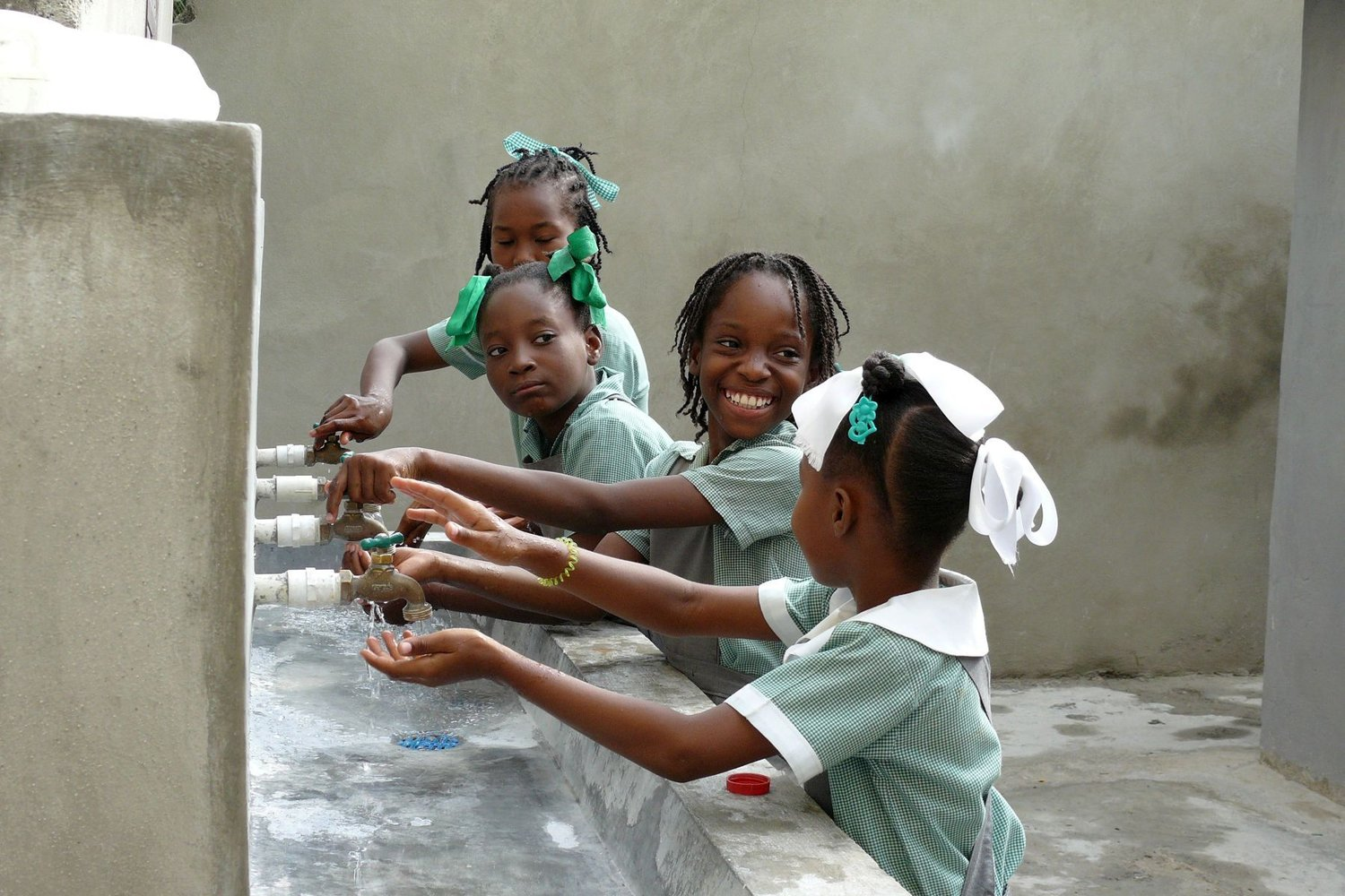 Reconstruction of schools in Haiti