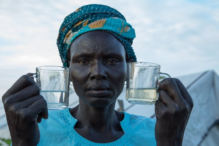 Help provides clean water in South Sudan
