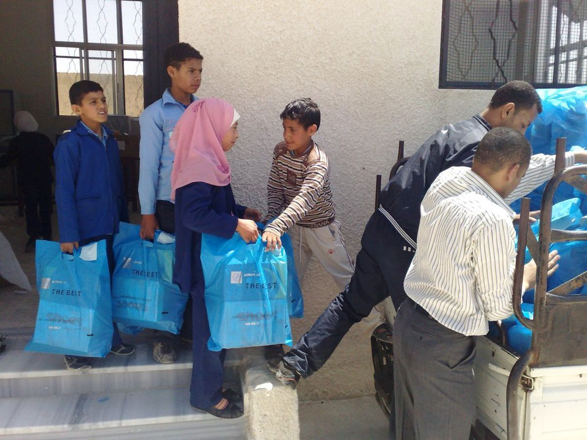 donate for syria. help – hilfe zur selbsthilfe