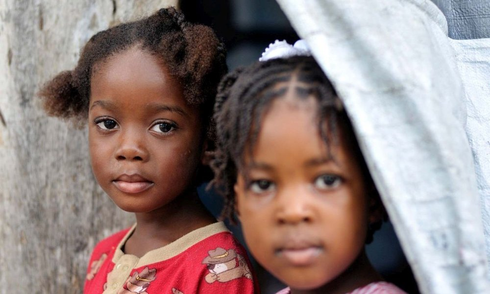Support children in Haiti with donations