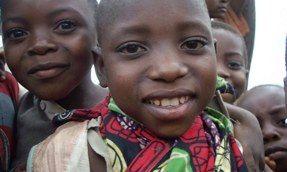 Children in the Congo